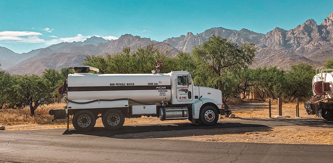 Bush Fire Services Provides Potable Water Tank Services for Emergencies and Events